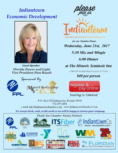 Indiantown Chamber Of Commerce Welcome To Indiantown