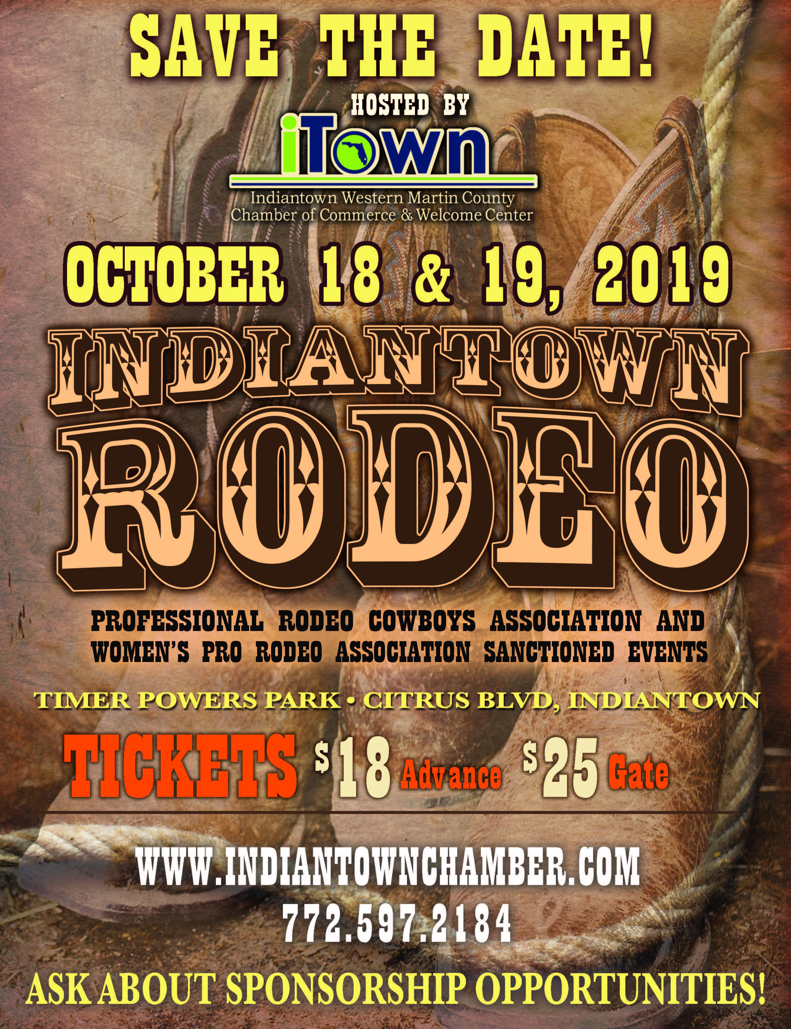 Indiantown Chamber Of Commerce Rodeo 2019