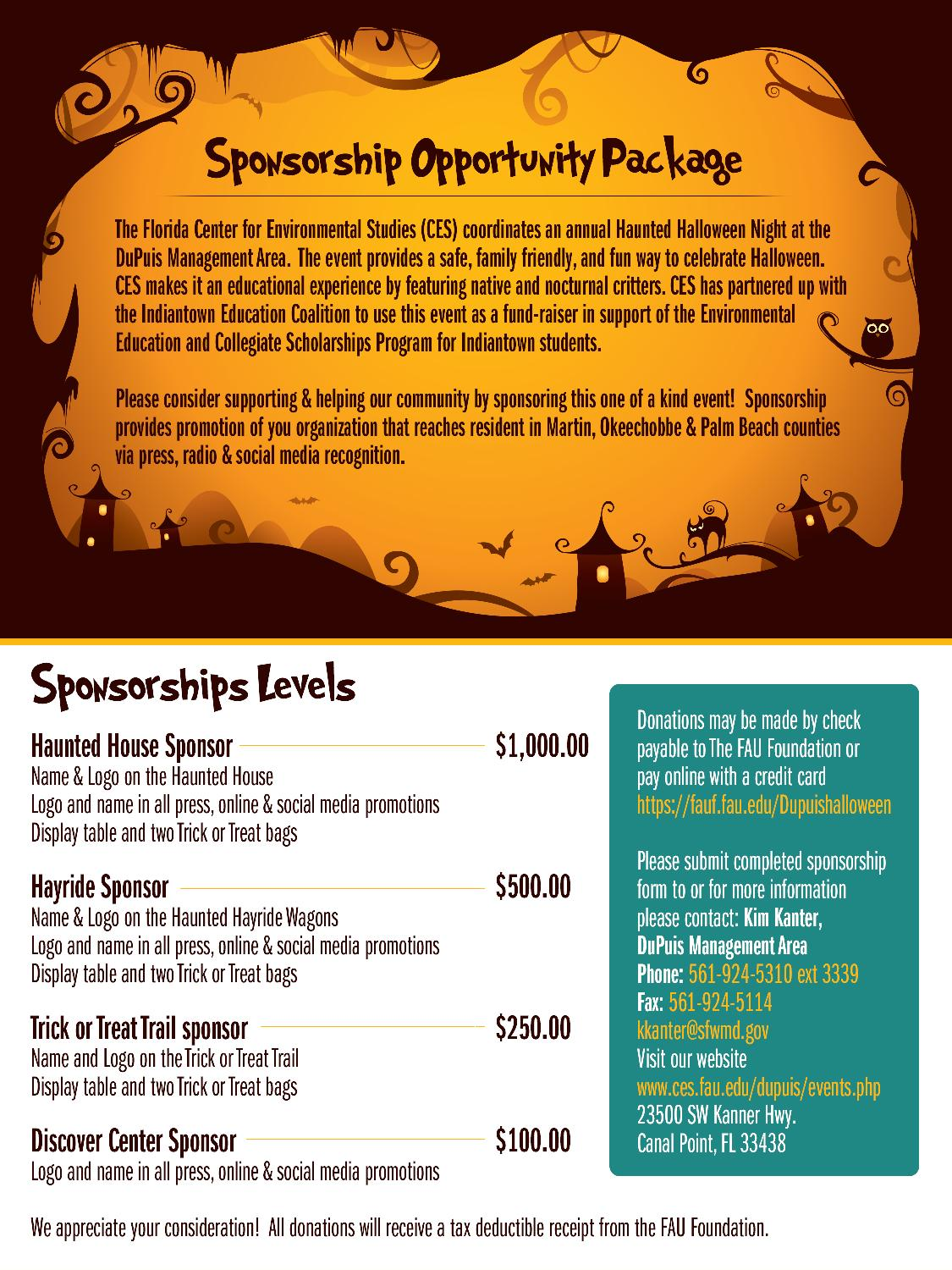 indiantown chamber of commerce - annual haunted halloween